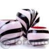 Zebra Glazen vaas