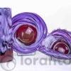 vazen en schalen rood paars,
