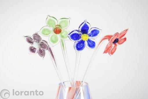 glazen bloemen loranto