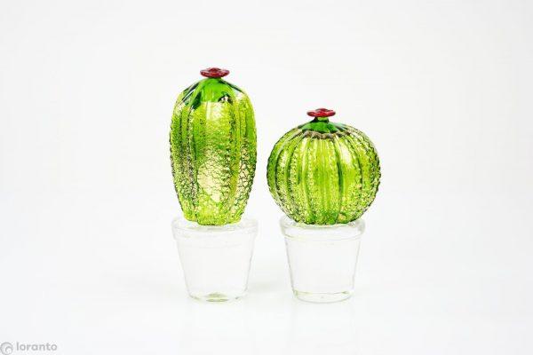 murano glas cactus