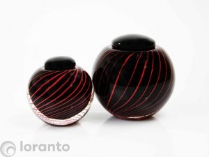 zwarte urn loranto