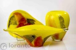 vazen geel set loranto,