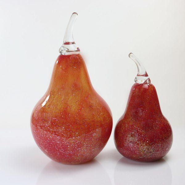 rode peren met zilver