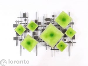 wand glaskunst loranto
