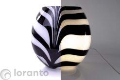 Zebra Lamp Groot Loranto 13.40.56 aan en uit