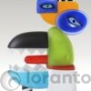 Sea Wolf Glasobject Loranto