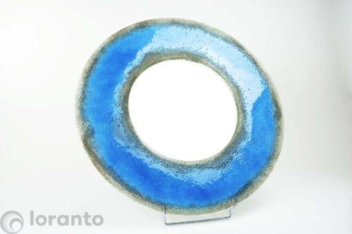 Spiegel Fusing Glas Blauw