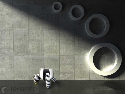 glasobject zebra,