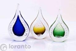 kristallen druppels bubbles