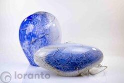 lampen blue marble baloon en stone