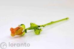 roos van glas oranje loranto,