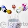 tulpen van glas 2 kleuren loranto,