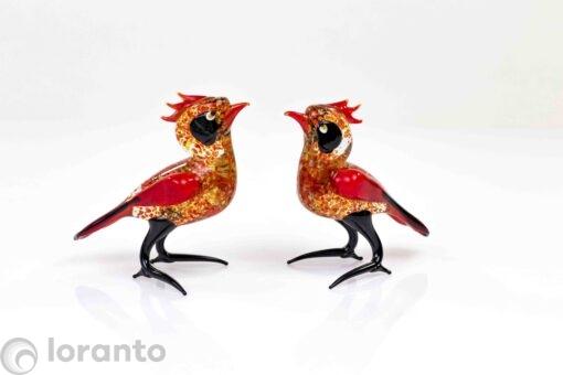vogel rood,