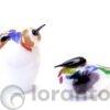 Vogels Vernice van glas